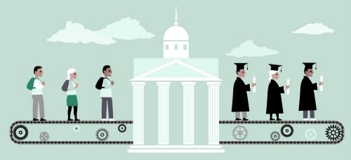 высшее образование сокращение вузов